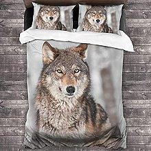 HUA JIE 3 Piece Bedding Comforter Sets 3 Piece