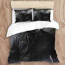 HUA JIE Baby Bedding Crib Sets Boy Duvet Cover