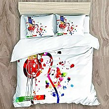HUA JIE Baby Girl Cot Bed Bedding Sets Duvet Cover