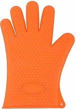 HUACHENG 1PC Silicone Glove Kitchen Heat Resistant