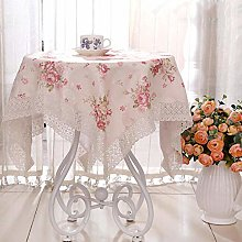 HUALEMEI Fabric Round Tablecloth,lace European