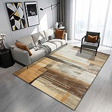 Huang brown halo Living room thin carpet thick