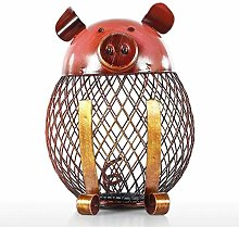 Huangjiahao Metal Figurine Piggy Bank Children Toy