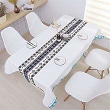 huangwanru Square Table Cloth Cotton Linen Table