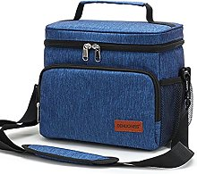 Huangyingui Can Insulated Picnic Lunch Bag, Large
