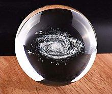 HUANSUN Crystal Ball 3D Laser Globe Galaxy