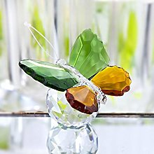 HUANSUN Crystal Flying Butterfly with Crystal Ball