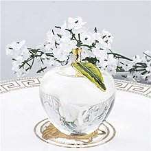 HUANSUN Unique Crystal Figurine Art Glass Apple