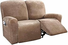 HUANXA Velvet Armchair Covers Recliner Slipcover,
