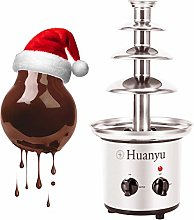 Huanyu 4 Tiers Chocolate Fondue Large Fountain of