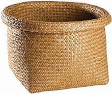 huashangbaihuodian Wicker Basket,Straw Storage