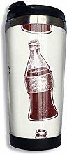 huatongxin Coffee Mugs Colas in Glass Bottles