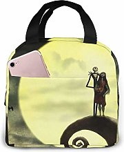 huatongxin Lunch Bag Tote Jack and Sally in The