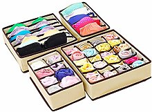 Huaute Drawer Organisers Collapsible Closet