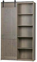Hubbell Display Cabinet Borough Wharf Colour: Beige