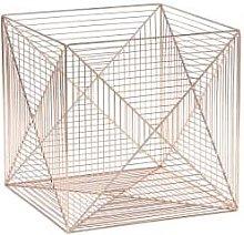Hubsch - Set of 2 Copper Square Basket