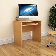 Huby Computer Desk, Pine