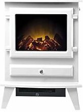 Hudson Electric Stove in Textured White - Adam