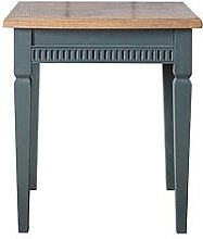 Hudson Living Bronte Lamp Table - Blue