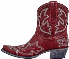 HUDUO Women High Boots Western Cowboy Knight Boots