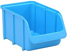 huenersdorff 673300 Storage bin, PP, Size 3, Blue