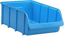 huenersdorff 675300 Storage bin, PP, Size 5, Blue