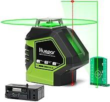 Huepar 1X 360 Laser Level Green, Switchable Cross
