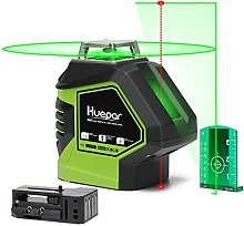 Huepar 621CG, 1X 360 Laser Level Green, Switchable