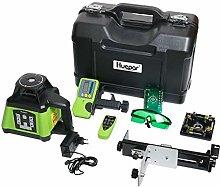 Huepar Self Rotating Laser Level Green Beam Kit,
