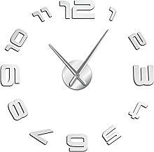 hufeng Wall Clock 3D Arabic Numerals Wall Clock