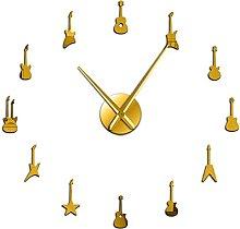 hufeng Wall Clock Guitar Variety Music Diy Wall