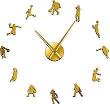 hufeng Wall Clock Math Science Wall Clock Math