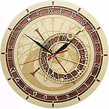 hufeng Wall Clock Prague Astronomical Clock In