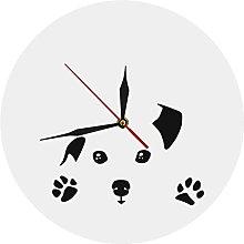 hufeng Wall Clockdog Design Wall Clock Acrylic