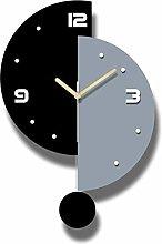 hufeng Wall Clocks Swing Wall Clock Modern Design