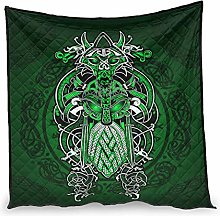 Huffle-Pickffle Viking Green Air Conditioner Quilt