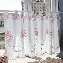 HUFT glass curtain bistro curtain kitchen curtain
