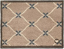 Hug Rug Kitchen Tile -Taupe Home 14 Dirt Trapper