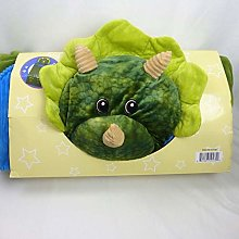 Hugfun Animal Slumber Bag (Green Dinosaur)