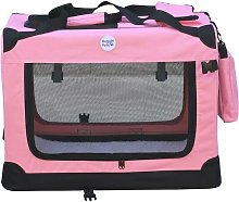 Hugglepets Fabric Crate - Large Pink