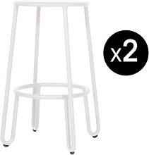 Huggy Bar stool - / H 65 cm - Set of 2 by Maiori