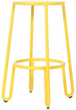Huggy Bar stool - H 65 cm / Aluminium by Maiori