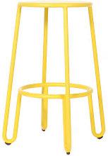 Huggy Bar stool - H 65 cm / Aluminium by Maiori