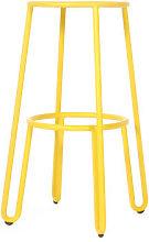 Huggy Bar stool - H 75 cm / Aluminium by Maiori