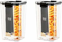 Huicai Kitchen Grain Storage Box Transparent PET