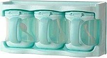 Huien Seasoning Box Storage Containers Condiment