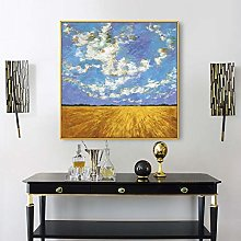 HUIJIE Hand Painted Oil Painting,Hand-Painted