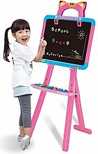 HUIO Drawing Board Double Sided White Board Magic