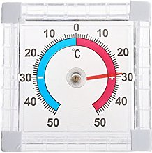 huiouer Temperature Thermometer Window Indoor