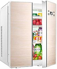 HUIQC Portable Double Door Fridge Freezer 25L